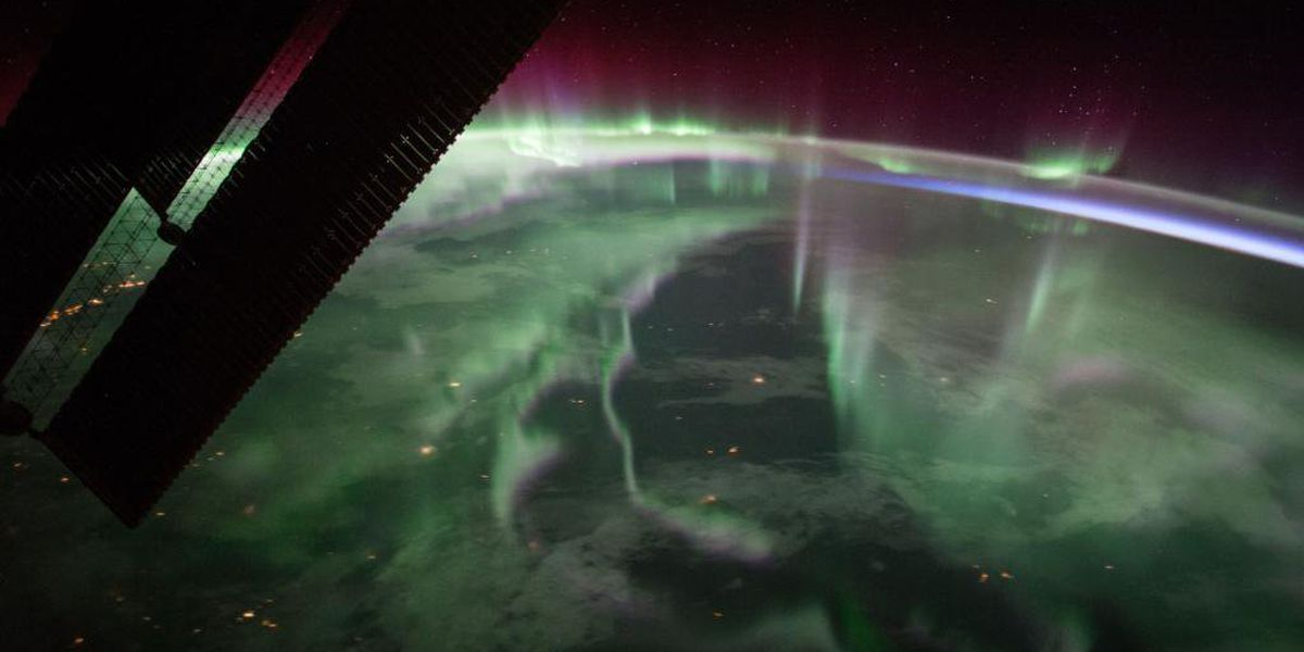 Look up and see the northern lights