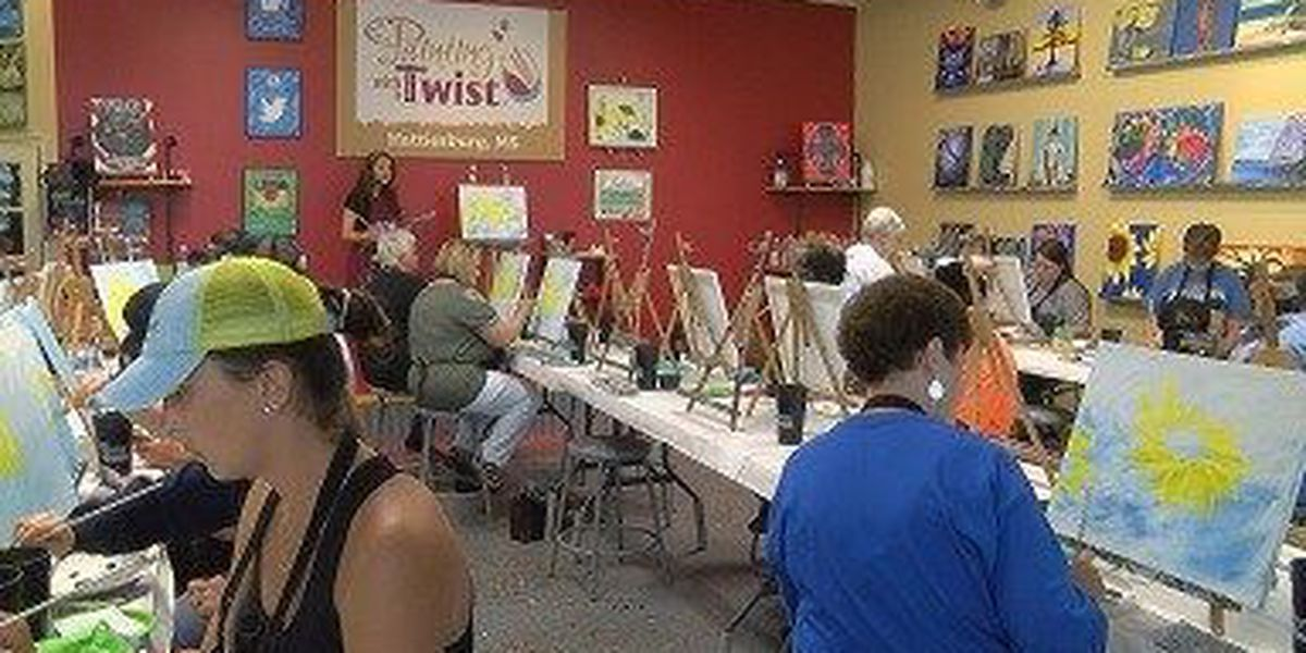 Organ donors celebrated at Hattiesburg arts event