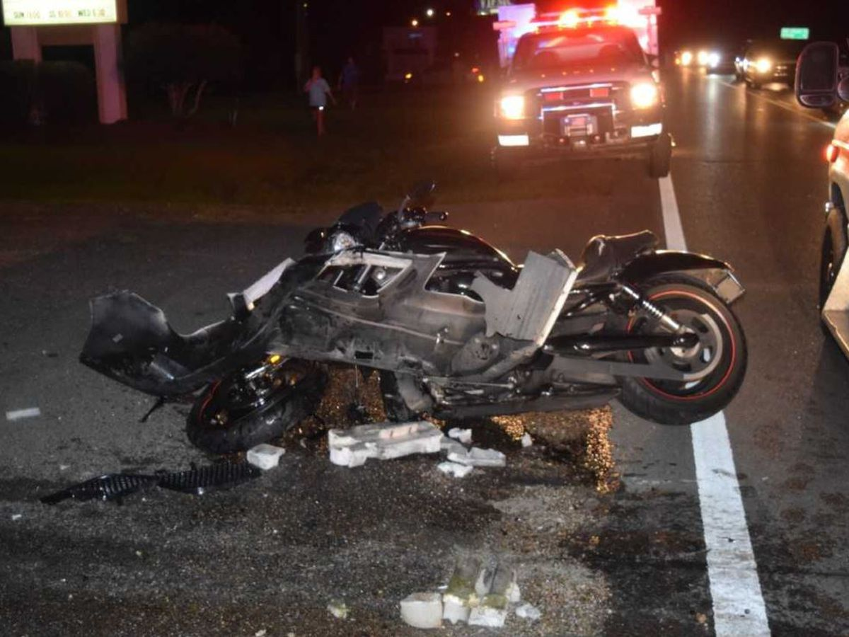 Motorcyclist dies in Jones County crash