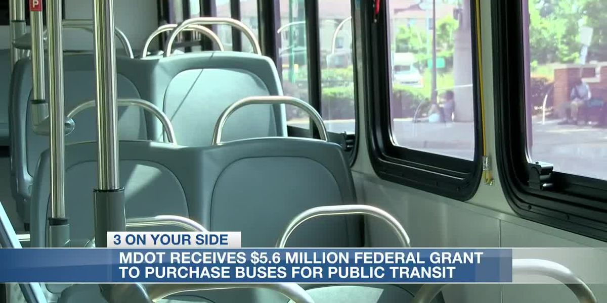 MDOT receives a multi-million dollar federal grant to buy buses for public transit