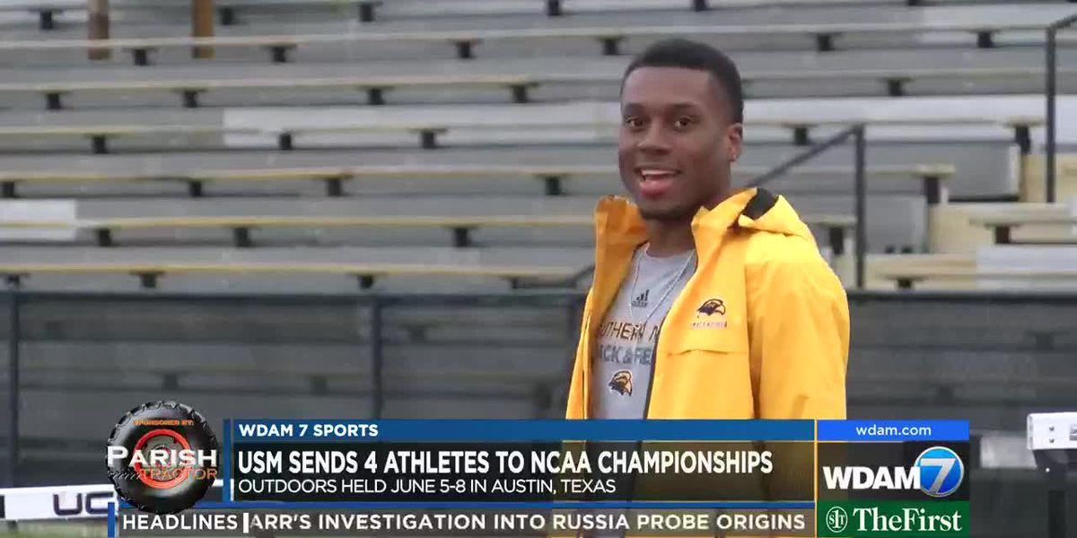 Four USM athletes qualify for NCAA Outdoor Track & Field Championships