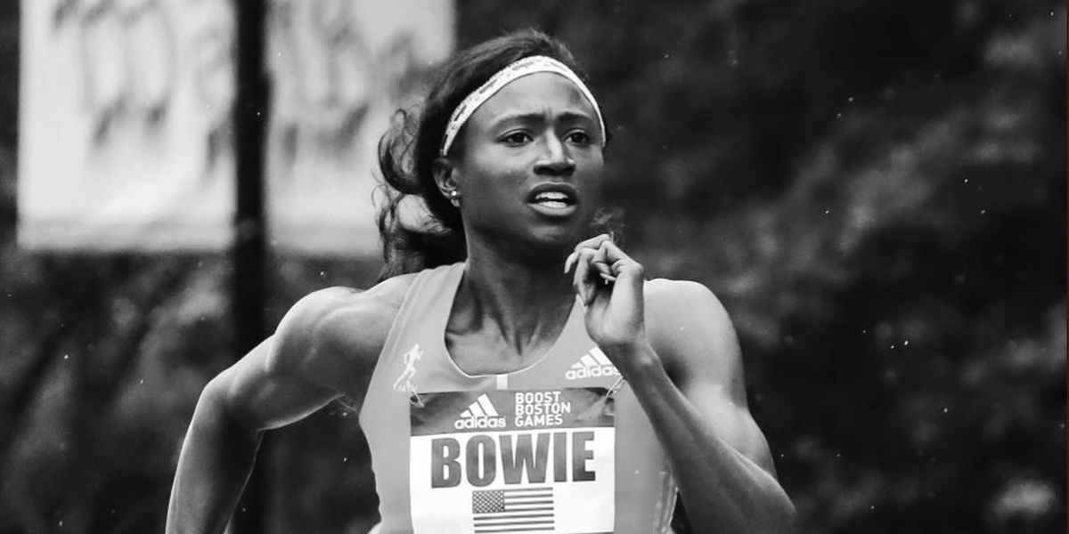 USM's Tori Bowie wins 100m title at Adidas Boost Boston Games