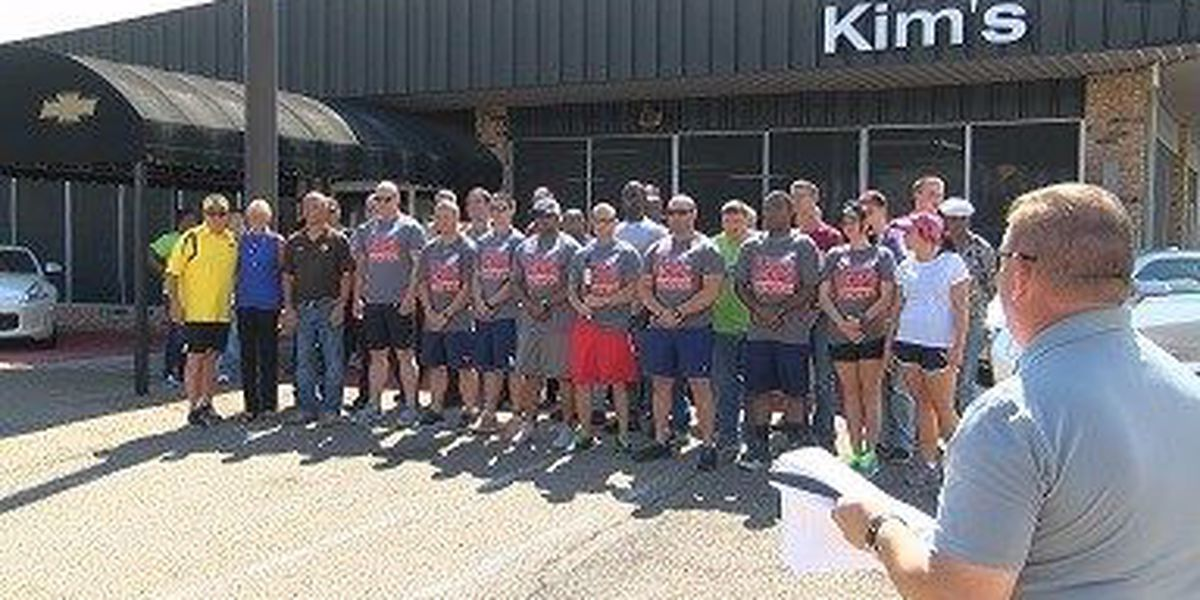Jones officers participate in Special Olympics Torch Run for third year