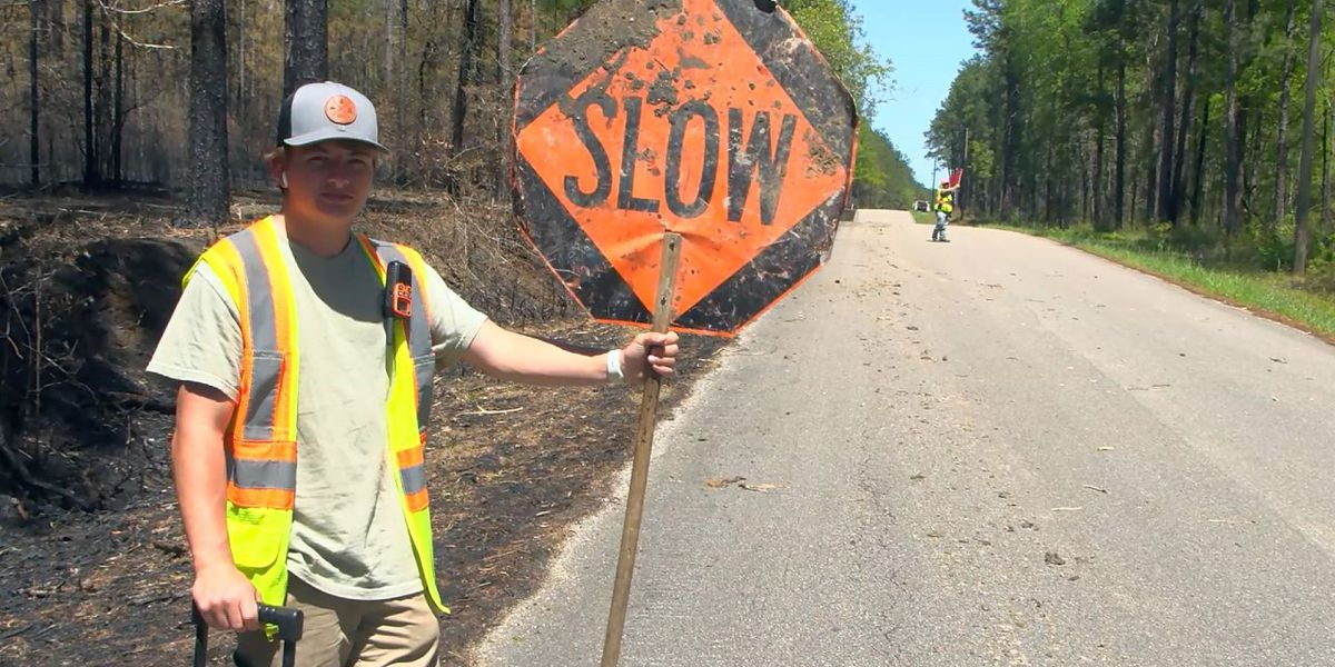 Repaving project begins on Camp Eight Road in Wayne County