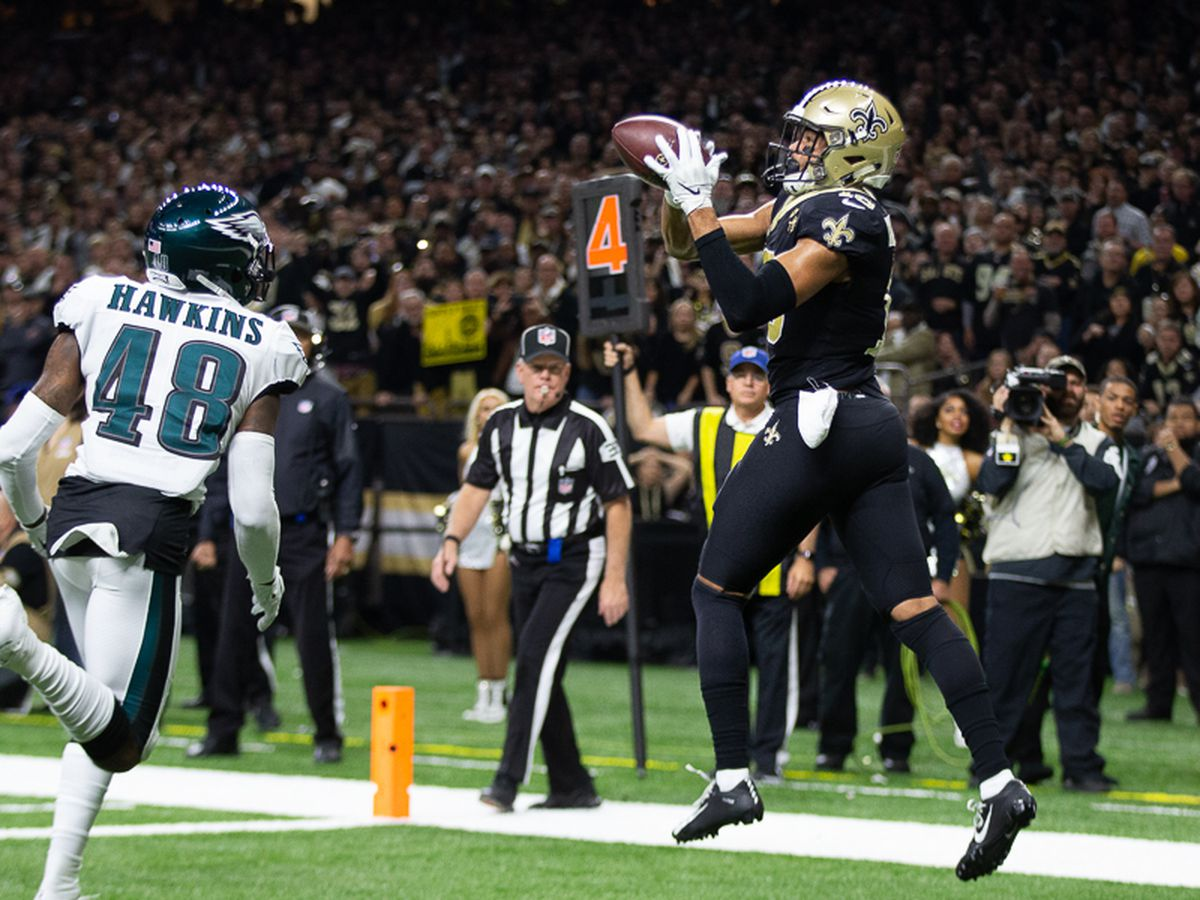 Saints score 20 unanswered points to beat the Eagles, advance to NFC Championship game