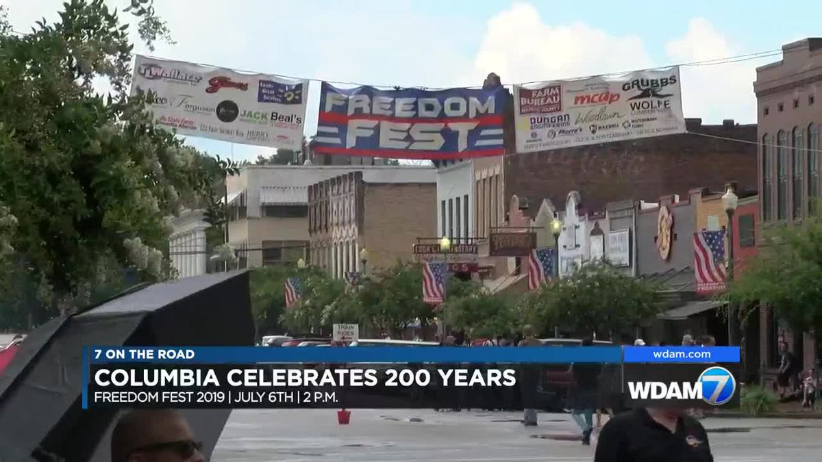 7 On The Road: Columbia set to celebrate 200 years with Freedom Fest