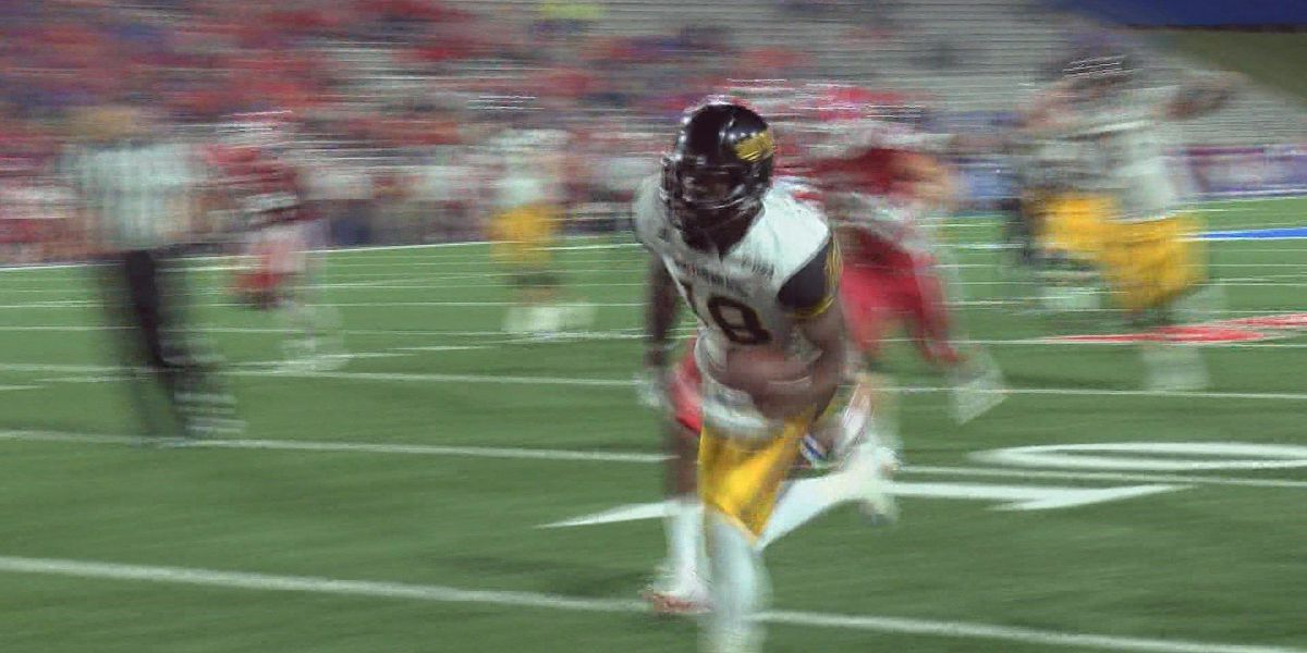 Korey Robertson enjoying breakout season for USM