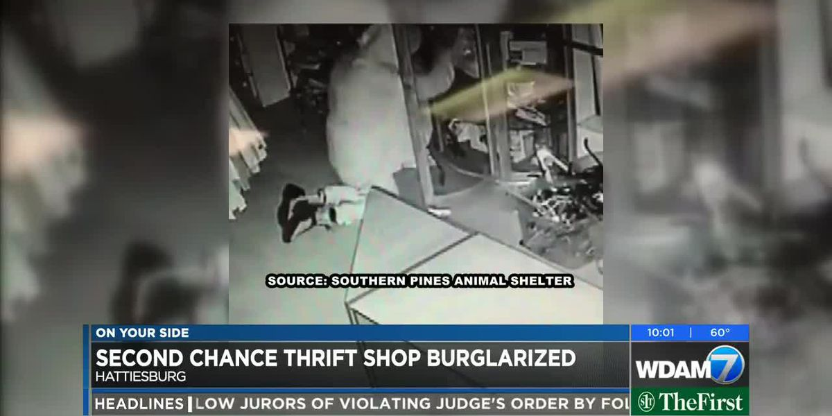 Second Chance Thrift shop burglarized