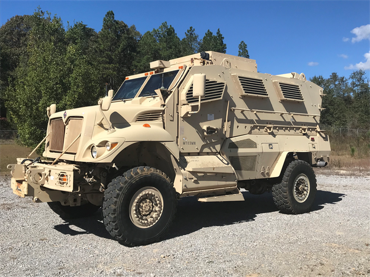Lamar County Sheriff's Office purchases MRAP vehicle
