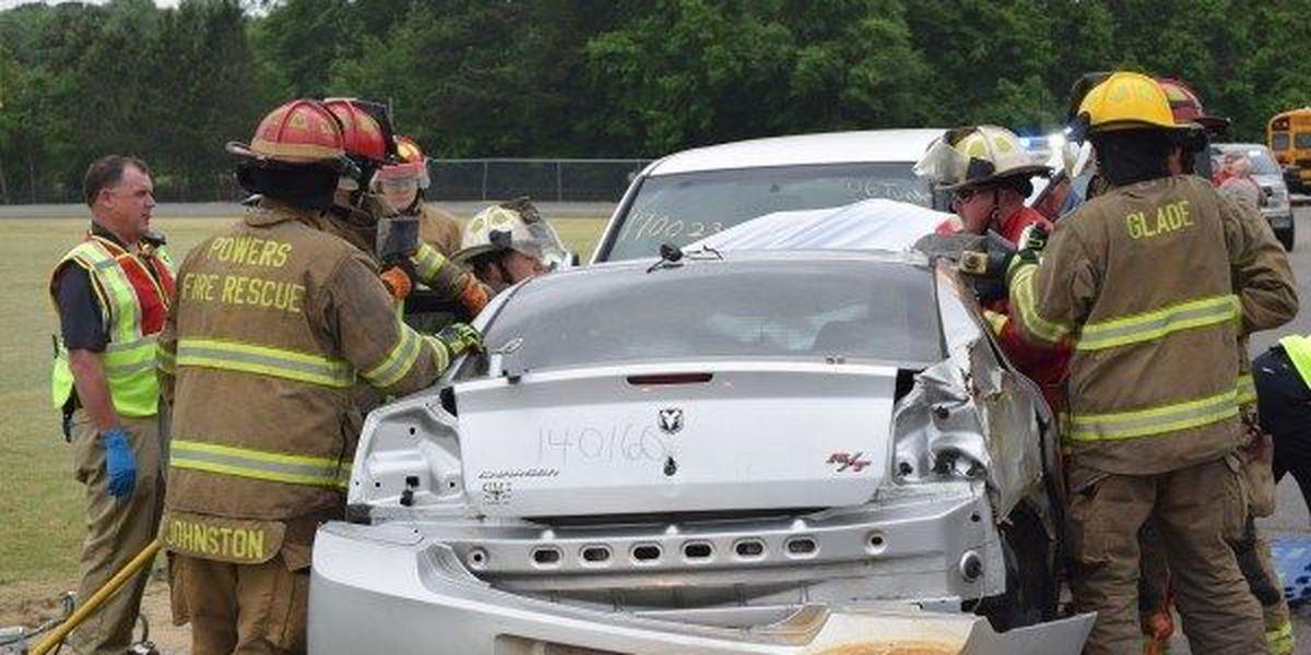 Prom Promise: Northeast Jones students witness tragic mock crash