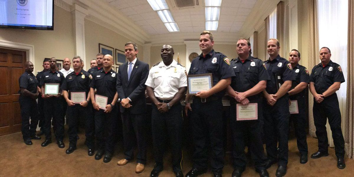 Hattiesburg Firefighters recognized at council meeting