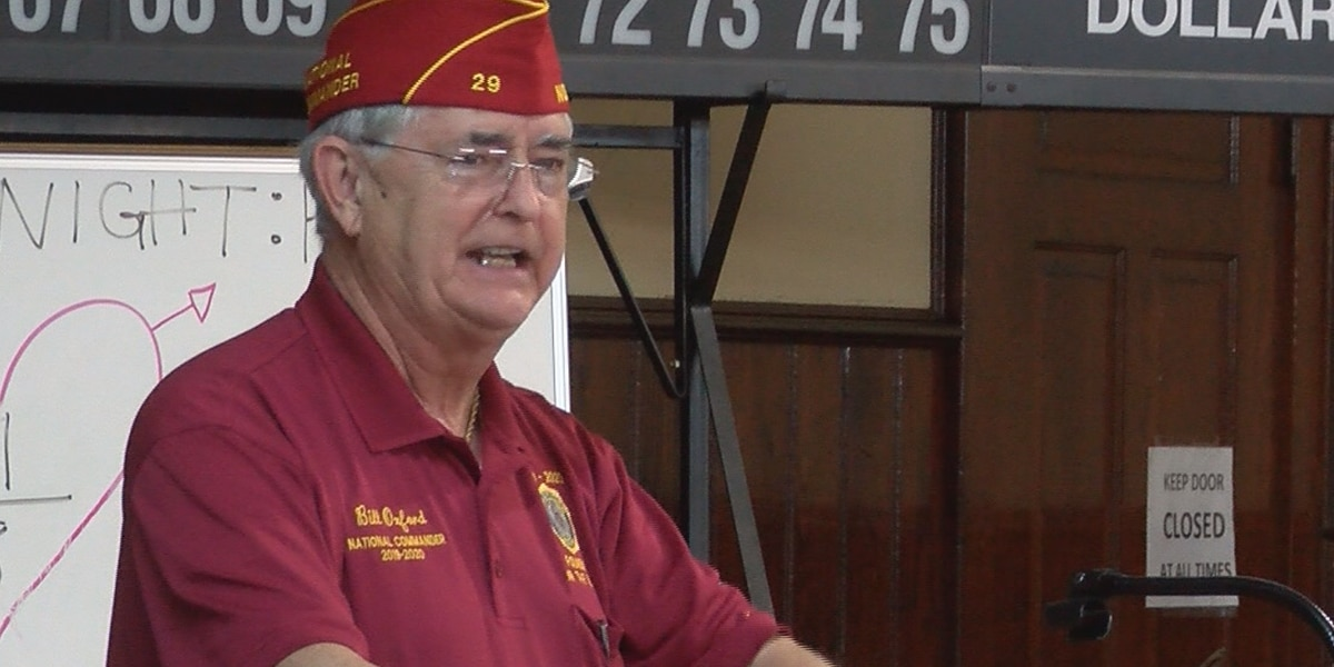 American Legion national commander speaks in Hattiesburg