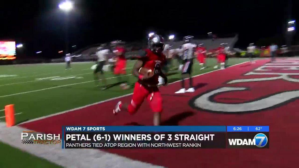 Petal's 3-game win streak places them atop region