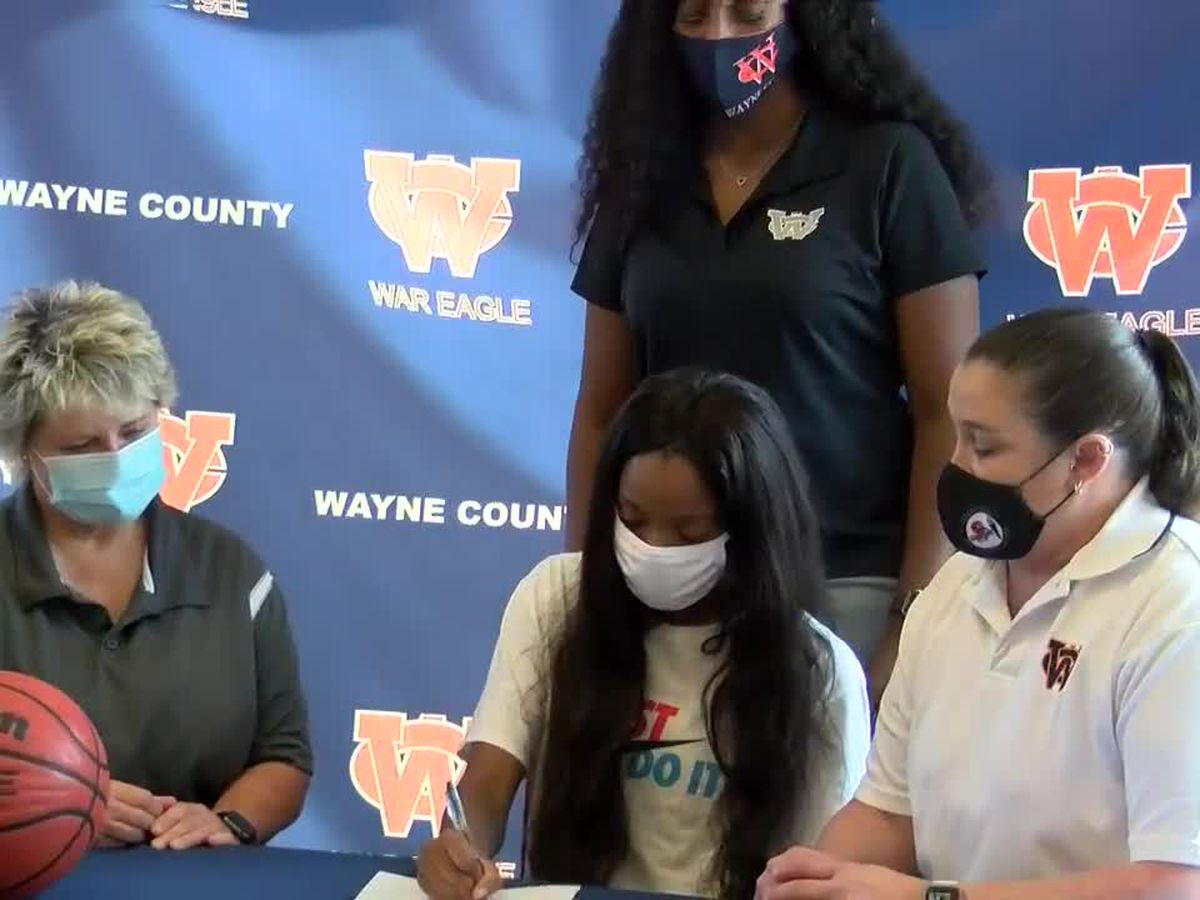 Wayne County sends Lady War Eagle to next level