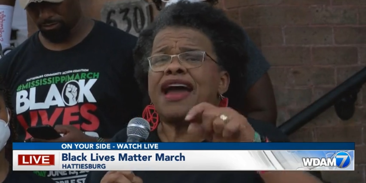 Hattiesburg protesters call for change, equality