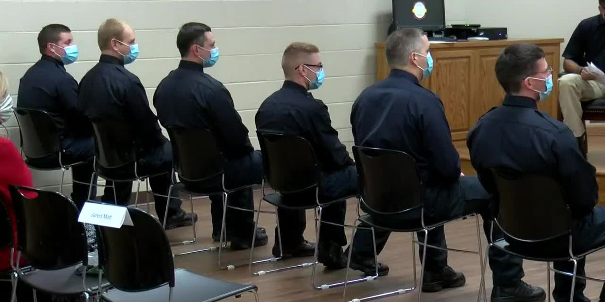 Six new firefighters join HFD during graduation ceremony