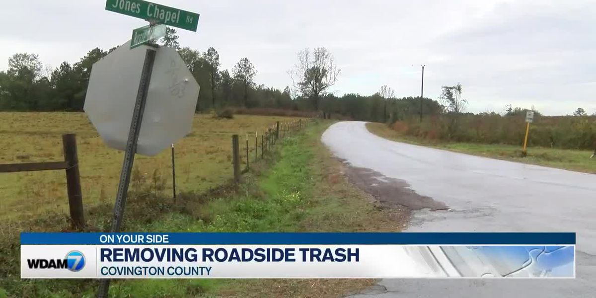 Weekend trash cleanup improves Dist. 5 Covington County community