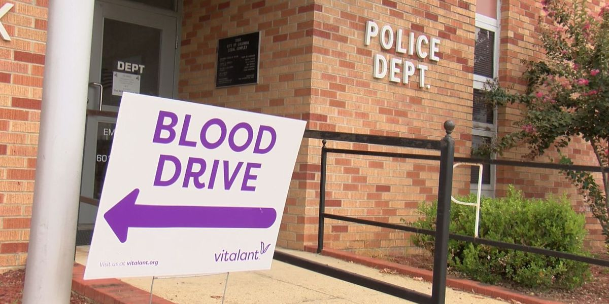 Columbia Police Department holds blood drive to commemorate 9/11