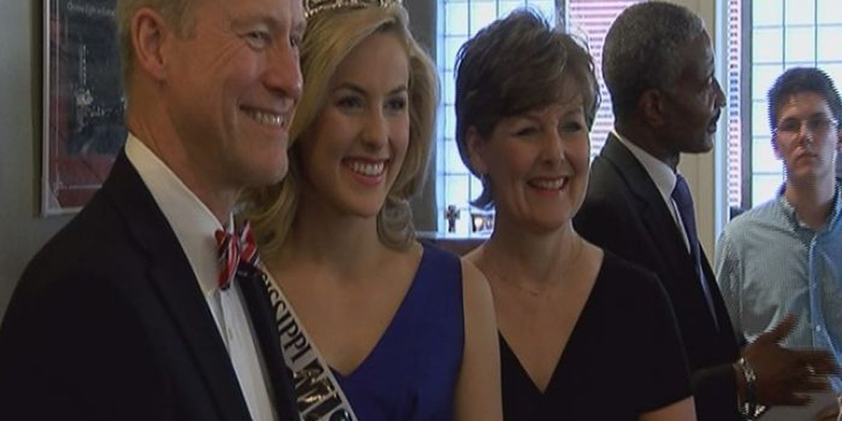 Mississippi Miss Hospitality welcomed home to Laurel