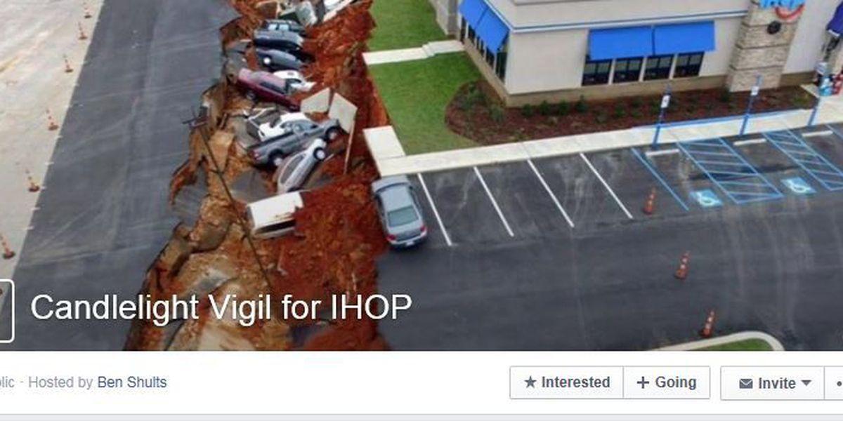 """Candlelight vigil"" created for Meridian IHOP"