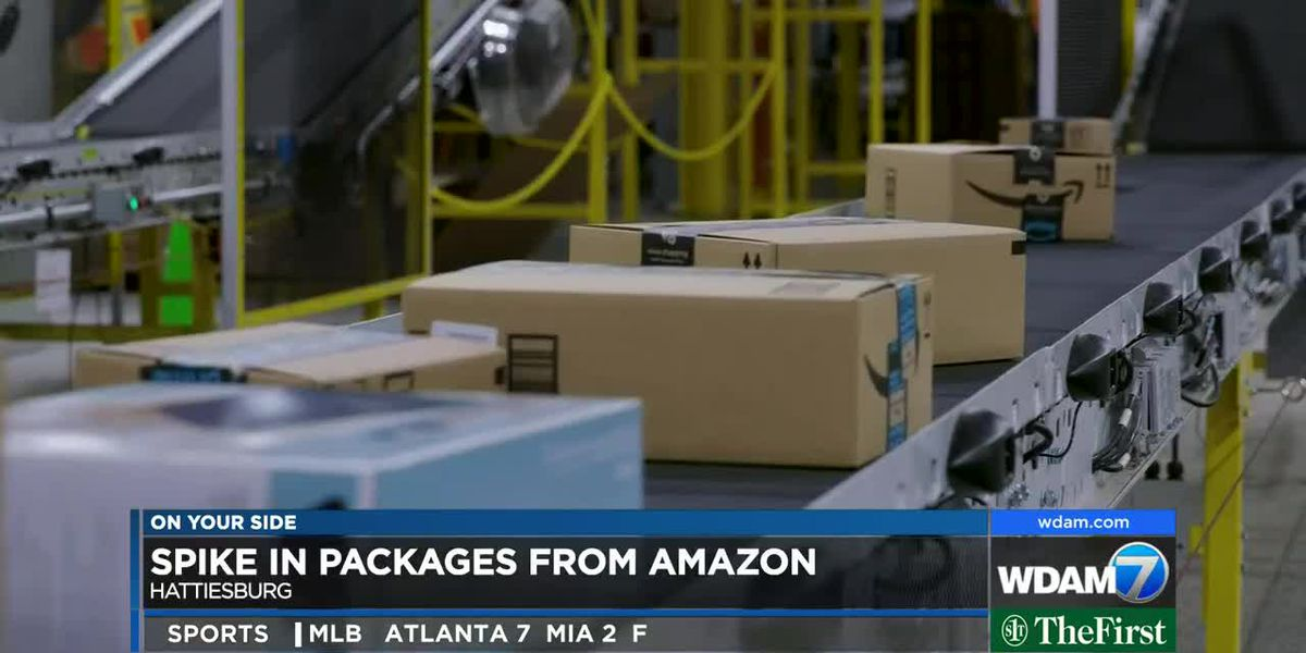 Pine Belt mail center sees spike in Amazon packages