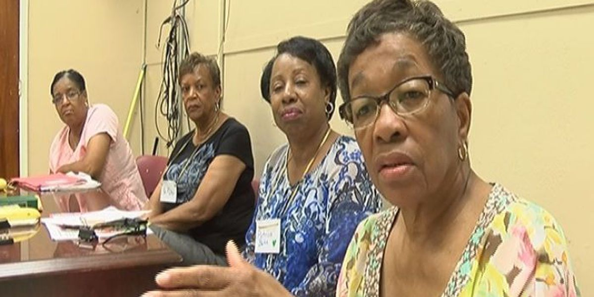 Retired teachers group helps young ladies during summer camp