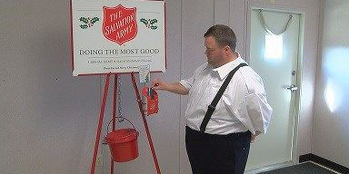 Pine Belt shoppers have new cashless way to donate to Salvation Army