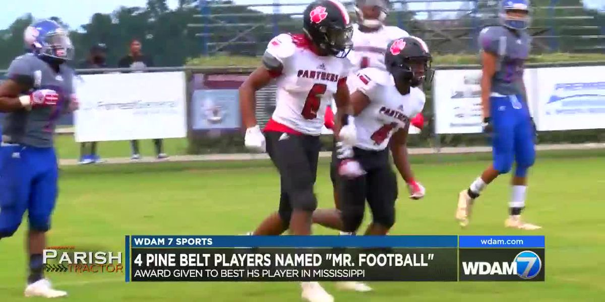 "4 local standouts tabbed ""Mr. Football"" by MCAC"