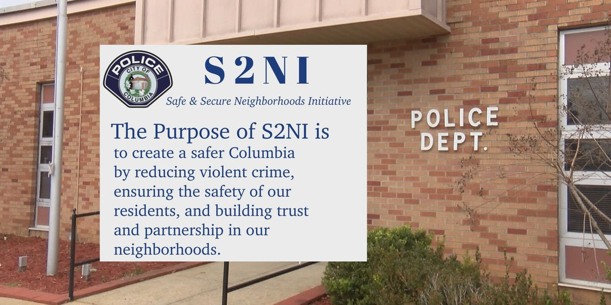 Columbia police to launch new initiative to help reduce violent crime