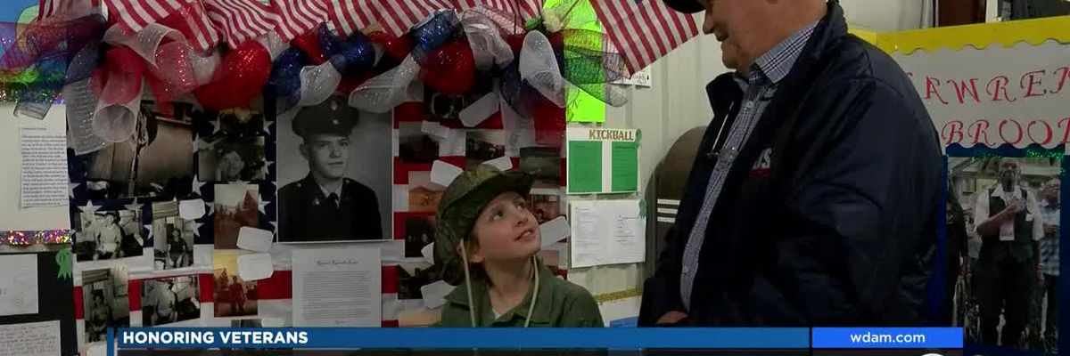 Laurel students host first Veterans Day Living History Museum