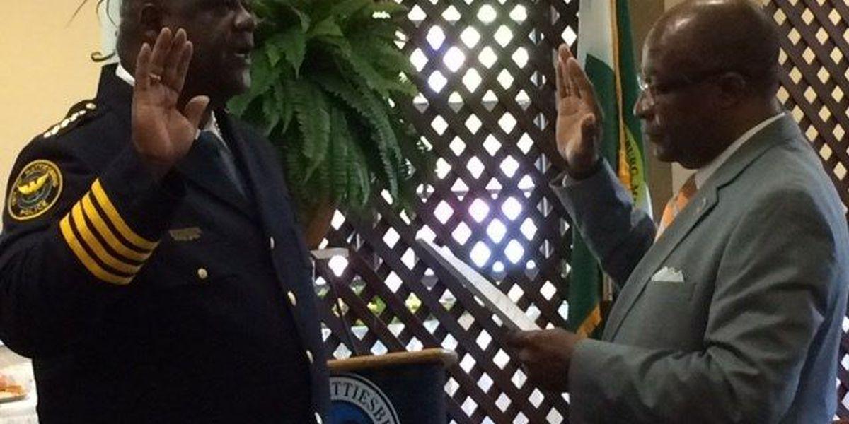 Parker sworn in as Hattiesburg police chief