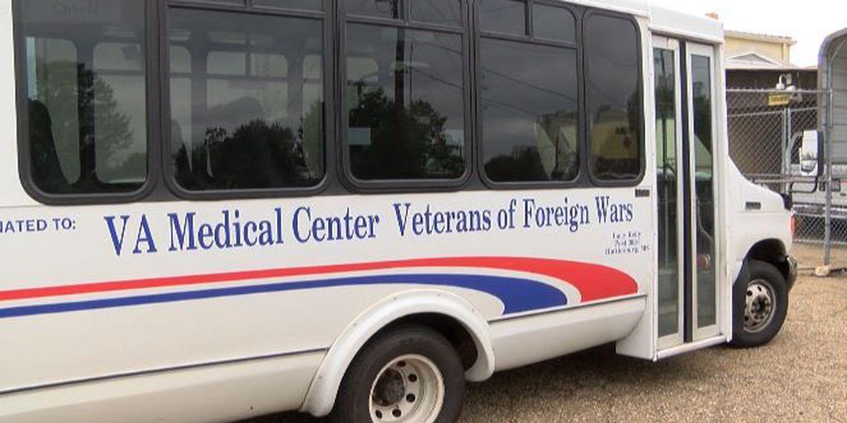 Forrest County Board donates funds toward new VA transportation van