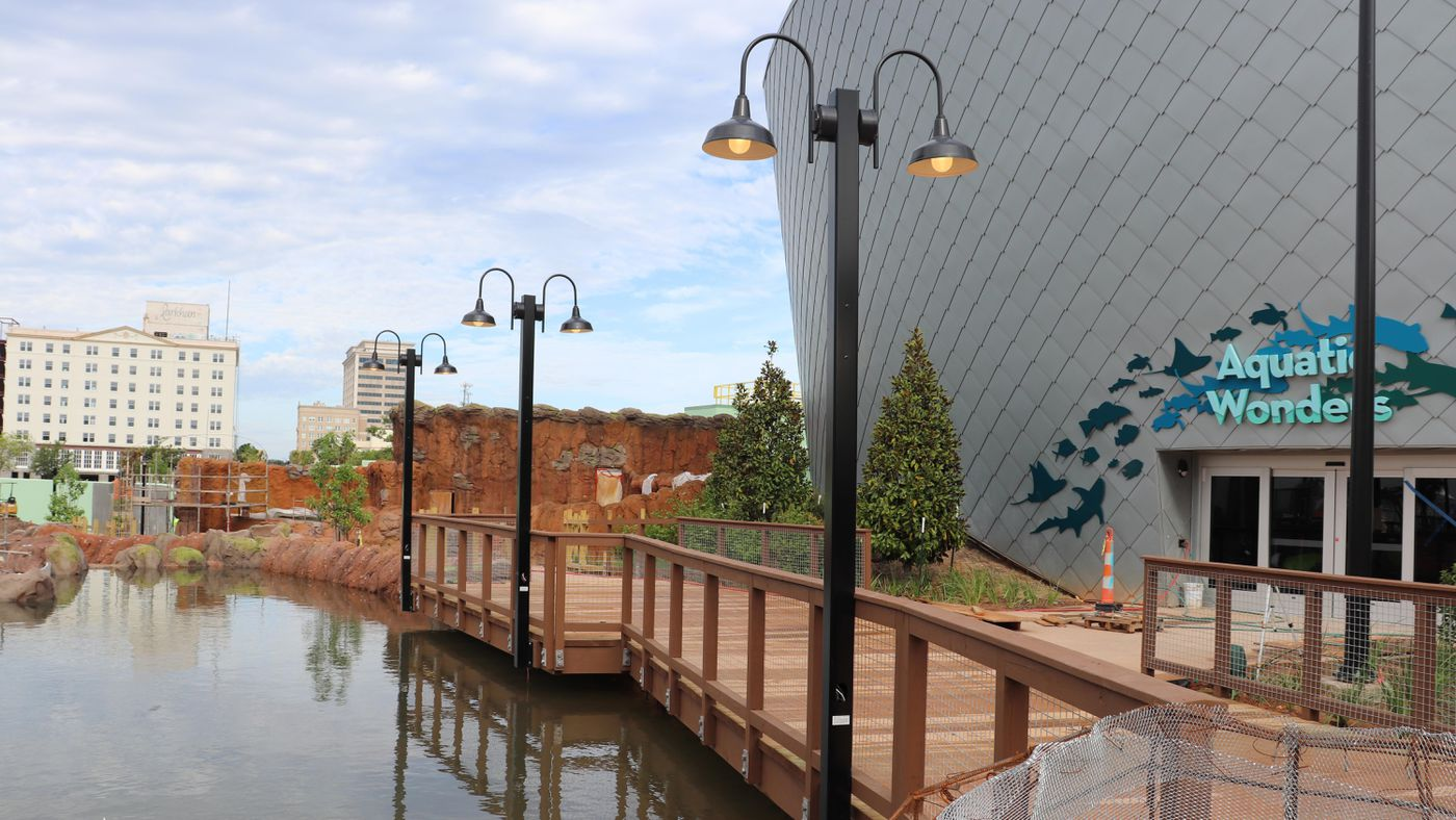 Mississippi Aquarium nearly complete and ready for marine life