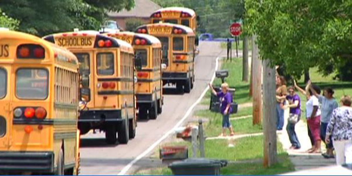 Drivers urged to not pass stopped school buses
