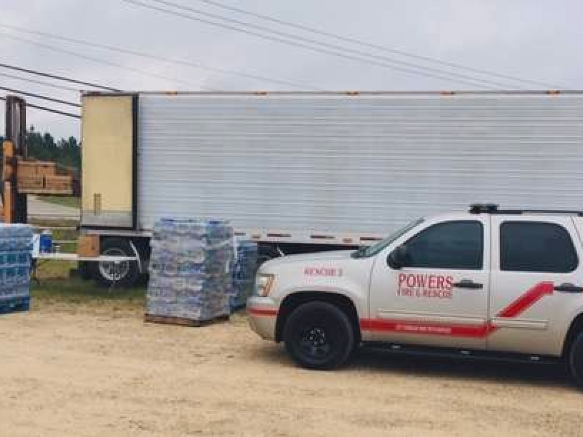 Powers Fire & Rescue to take relief supplies to Florida