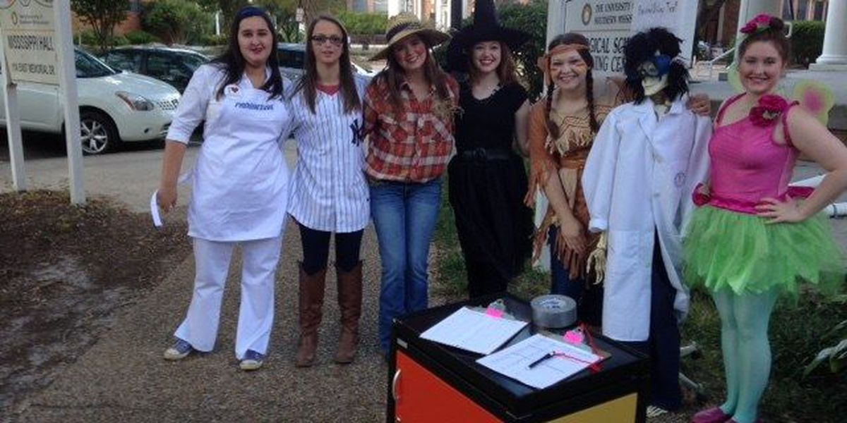 Haunted Science Trail, a lesson in biology with a twist.