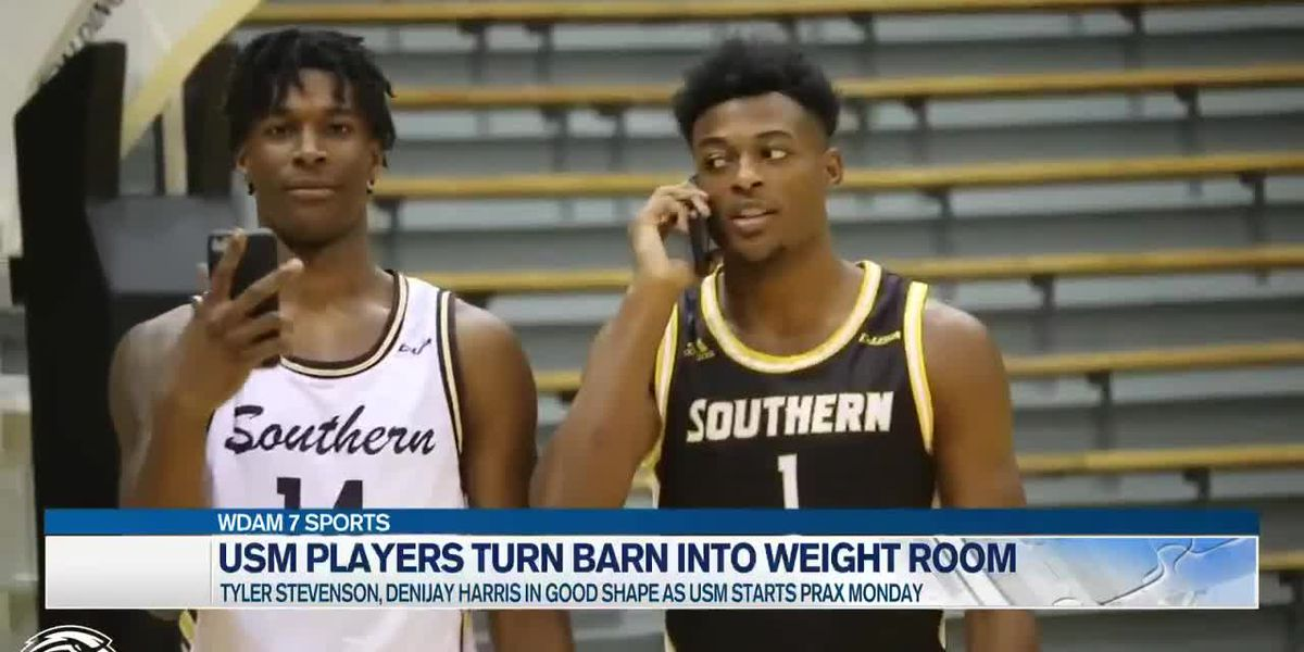 USM basketballers turn barn into weight room amid pandemic