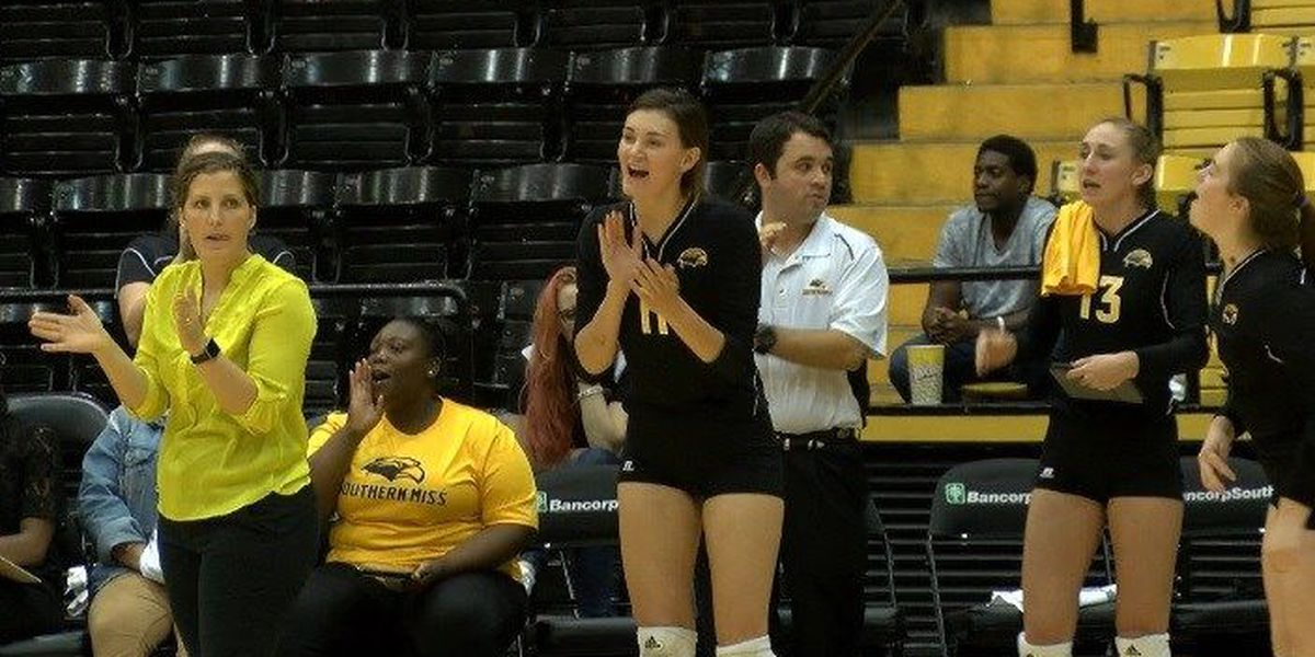 USM volleyball falls to UTSA at home