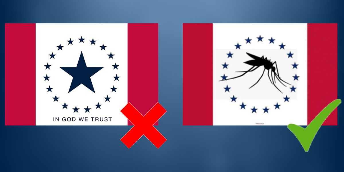 Hospitality Flag no longer in the running to become Mississippi's next flag... but the Mosquito Flag is
