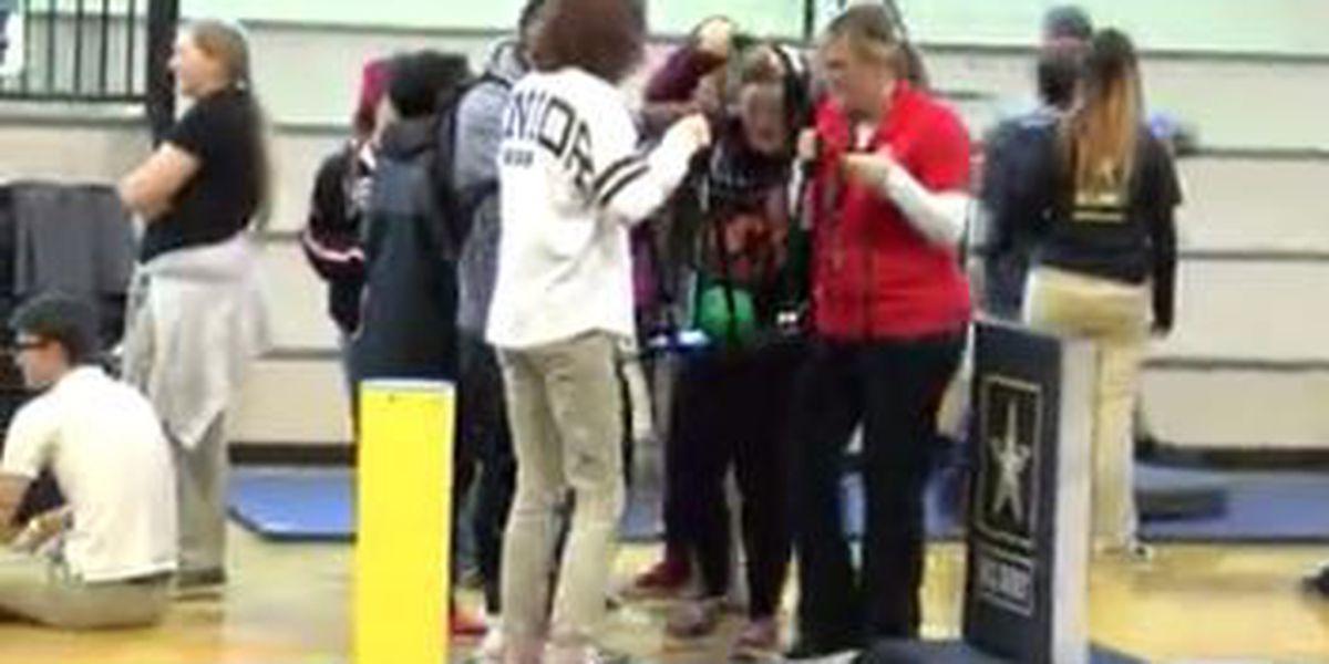 Lumberton High students put teamwork skills to the test