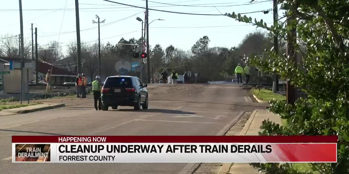 Residents allowed to return home after train derailment in Petal