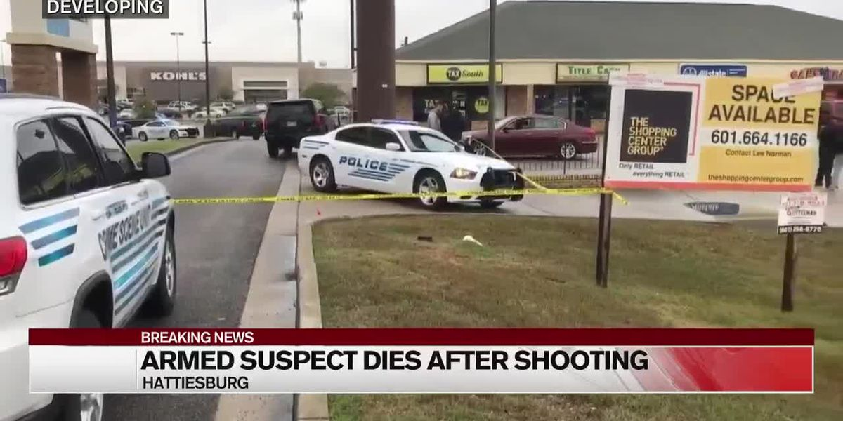 Suspect dead after officer-involved shooting in Hattiesburg