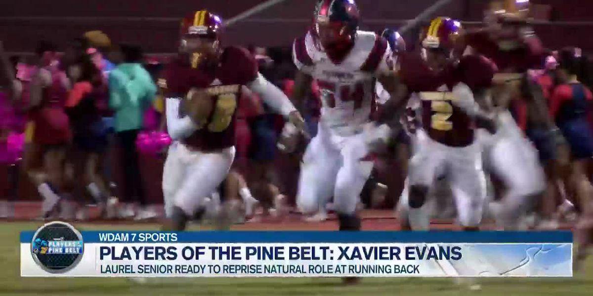 Players of the Pine Belt: Laurel's dual-threat QB Xavier Evans to transition to dual-threat RB/WR