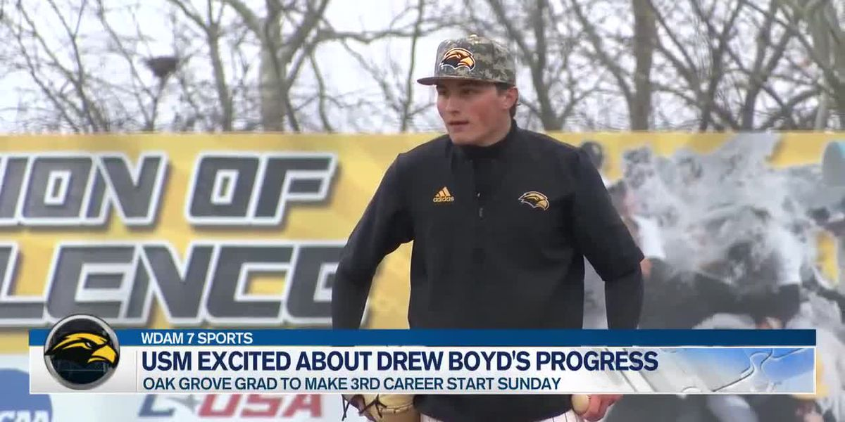 "A ""stronger"" Drew Boyd to take the mound for USM this season"