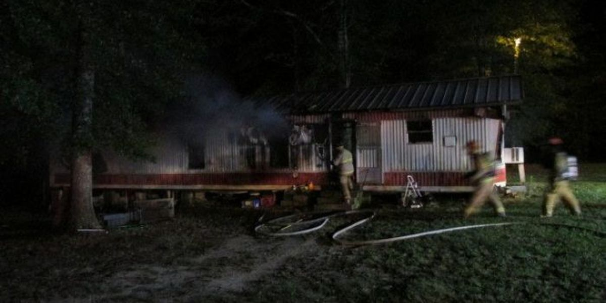 Husband and wife lose everything in house fire
