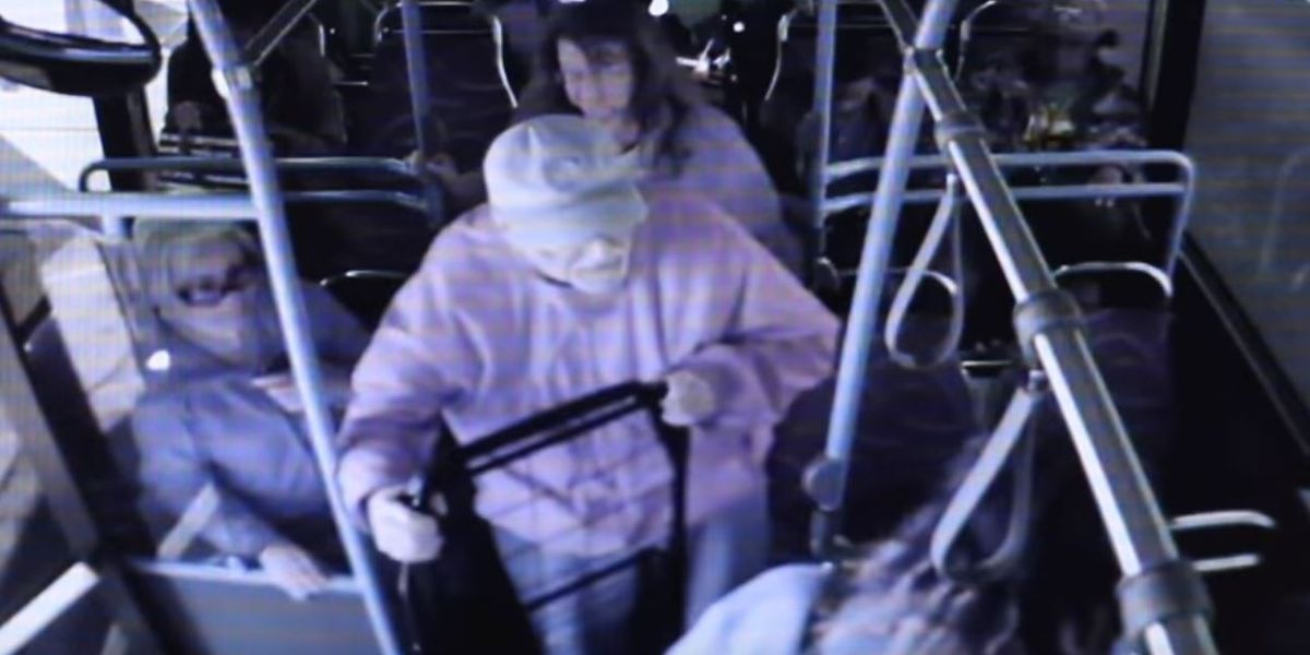 Just-released video shows man being pushed off Las Vegas bus a month before his death