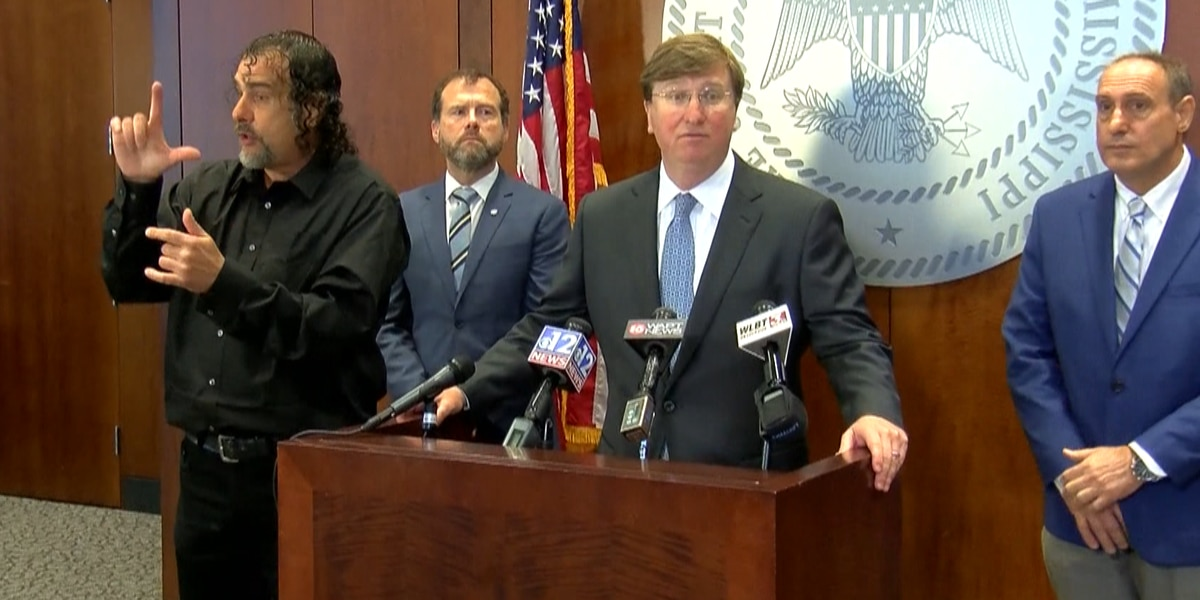 WATCH: Gov. Reeves discusses response to coronavirus