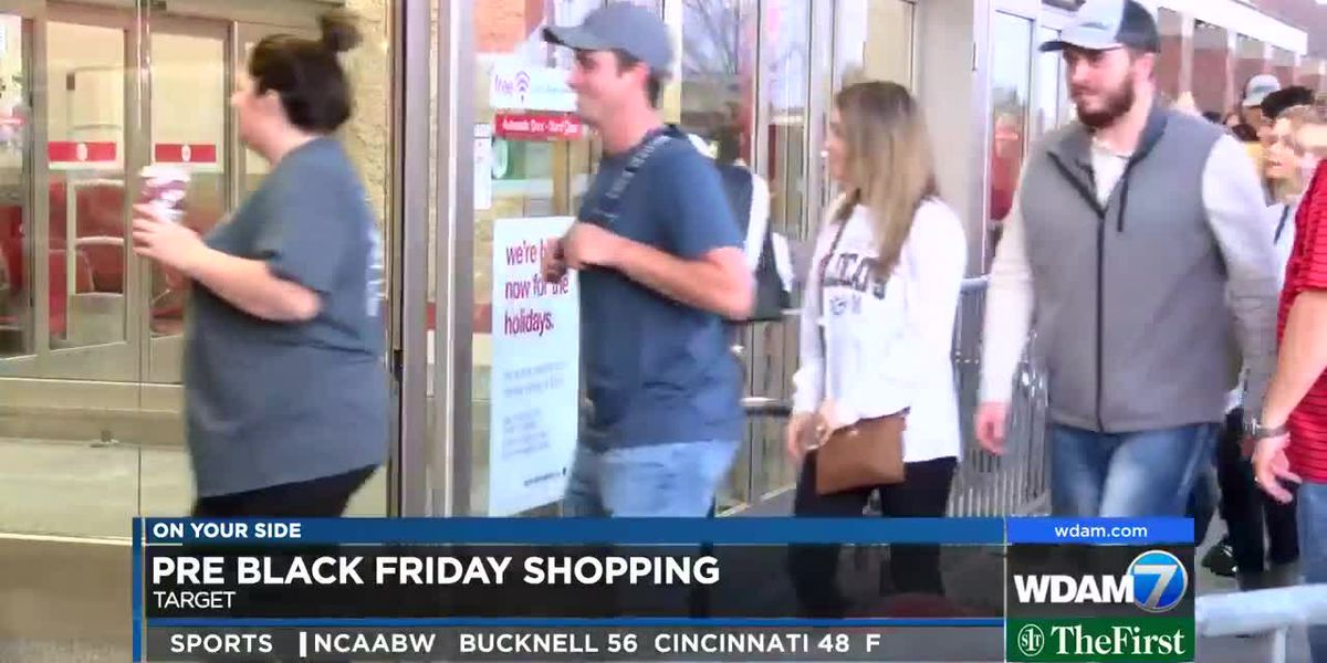 Black Friday preview in Pine Belt