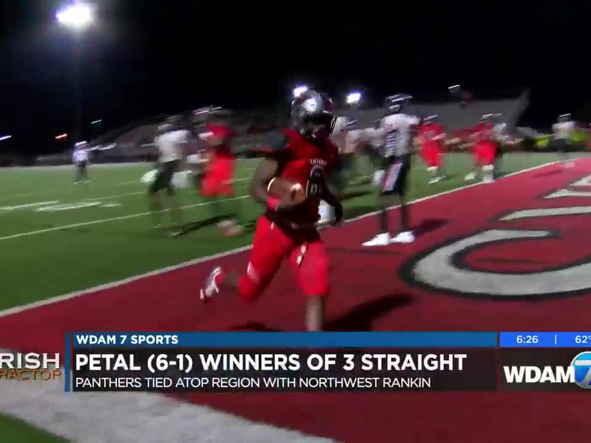 Petal's 3-game win streak places them atop region