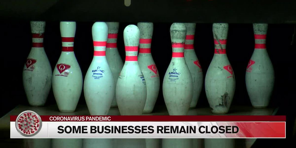 Business that can't reopen continue to struggle